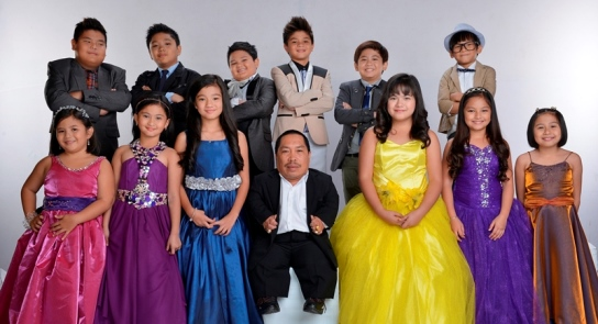 The remaining cast of Goin' Bulilit