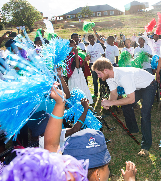 Royal Family Around The World: Prince Harry Visits Africa
