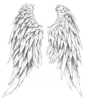 Glamorous Angel Wings Tattoos Gallery