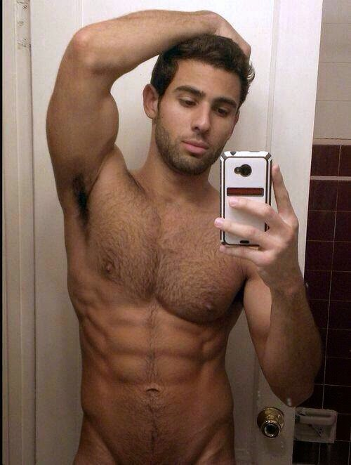 Hairy Man's Thick Armpits