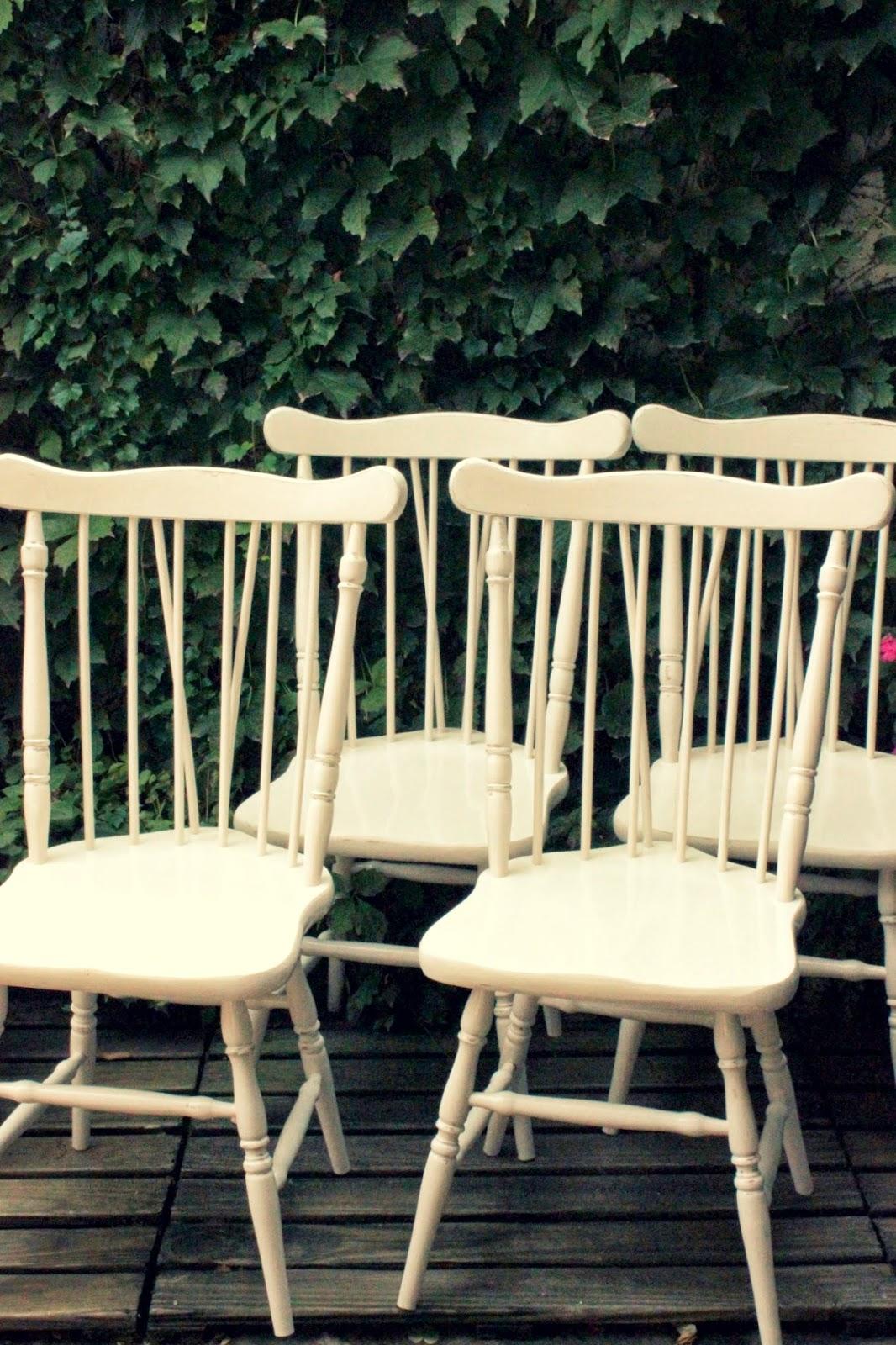 Tienda la florinda trabajo pintura de sillas a pedido for Almohadones para sillas windsor