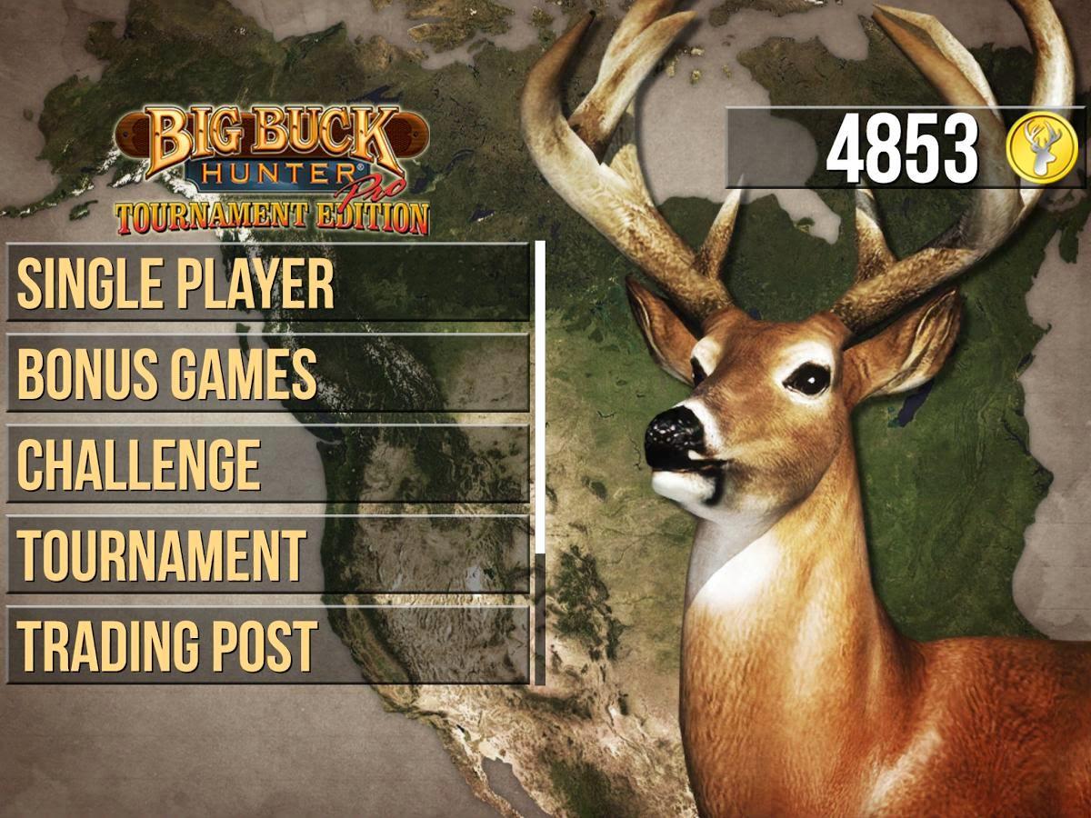 Big Buck Hunter Pro Tournament MOD APK dan DATA (Campaign Unlocked + Unlimited Golds)