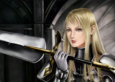 Wallaper   Claymore   Big Sword   Blonde Hair   Anime Girl