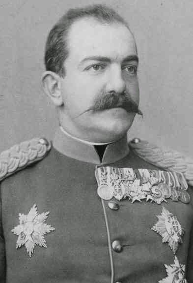 Milan Obrenović, roi Milan I de Serbie 1854-1901