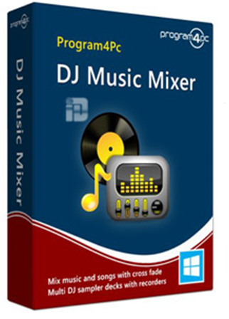 Download Software Program4Pc DJ Music Mixer 5.4.0 Full Crack Terbaru