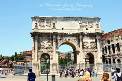 Travel Photos Marjolyn indulging the beauty of the Colosseum Rome Italy