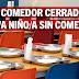 IU-Mérida pide que sigan abiertos los comedores escolares.