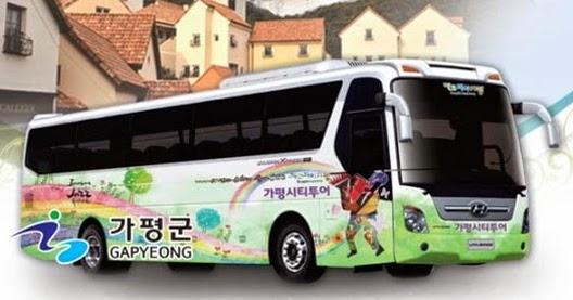 Gapyeong City Tour Bus