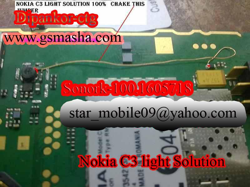 nokia c3 all hardware solution