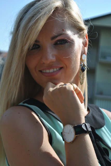 mariafelicia magno fashion blogger color block by felym fashion blog italiani fashion blogger italiane blogger italiane blogger italiane di moda ragazze bionde blonde girls blonde hair blondie ragazze occhi azzurri come truccare gli occhi azzurri majique london orecchini majique oceanic jewellers summer earrings orecchini estivi orologio daniel wellington preppy watch daniel wellington watch