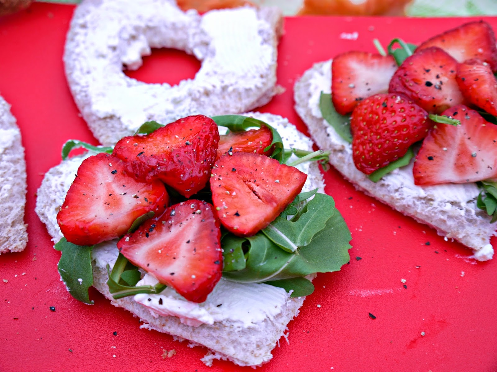 valentine's day, sandwich ideas