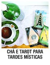 Chá e tarot para tardes místicas