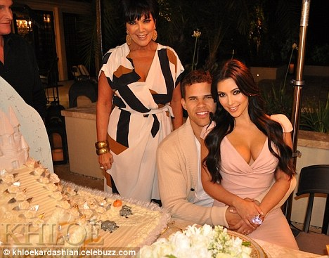 An elaborate princess cake and ponies covered in glitter... how the Kardashians celebrated Kim's engagement