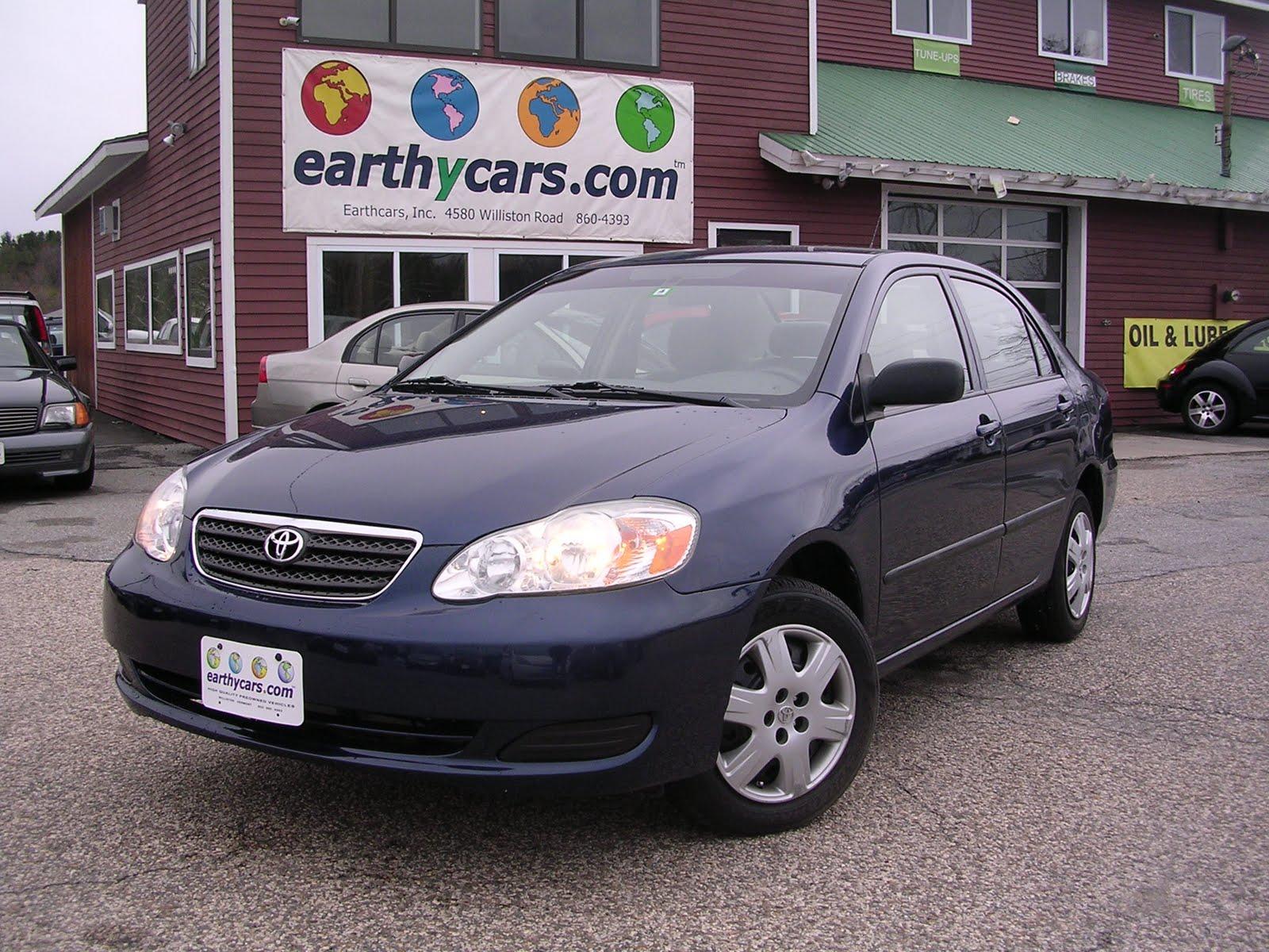 EARTHY CAR OF THE WEEK: 2005 Blue Toyota Corolla