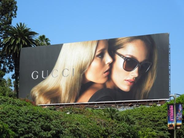 Gucci sunglasses SS 2013 billboard