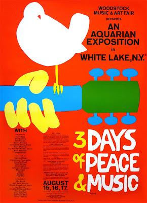 poster do festival de Woodstock