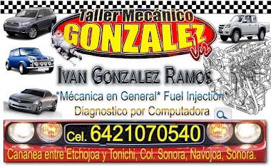 Taller Mecánico GONZALEZ Jr.