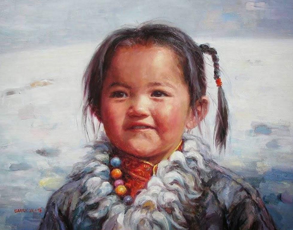 retratos-pintados-al-oleo-de-niños