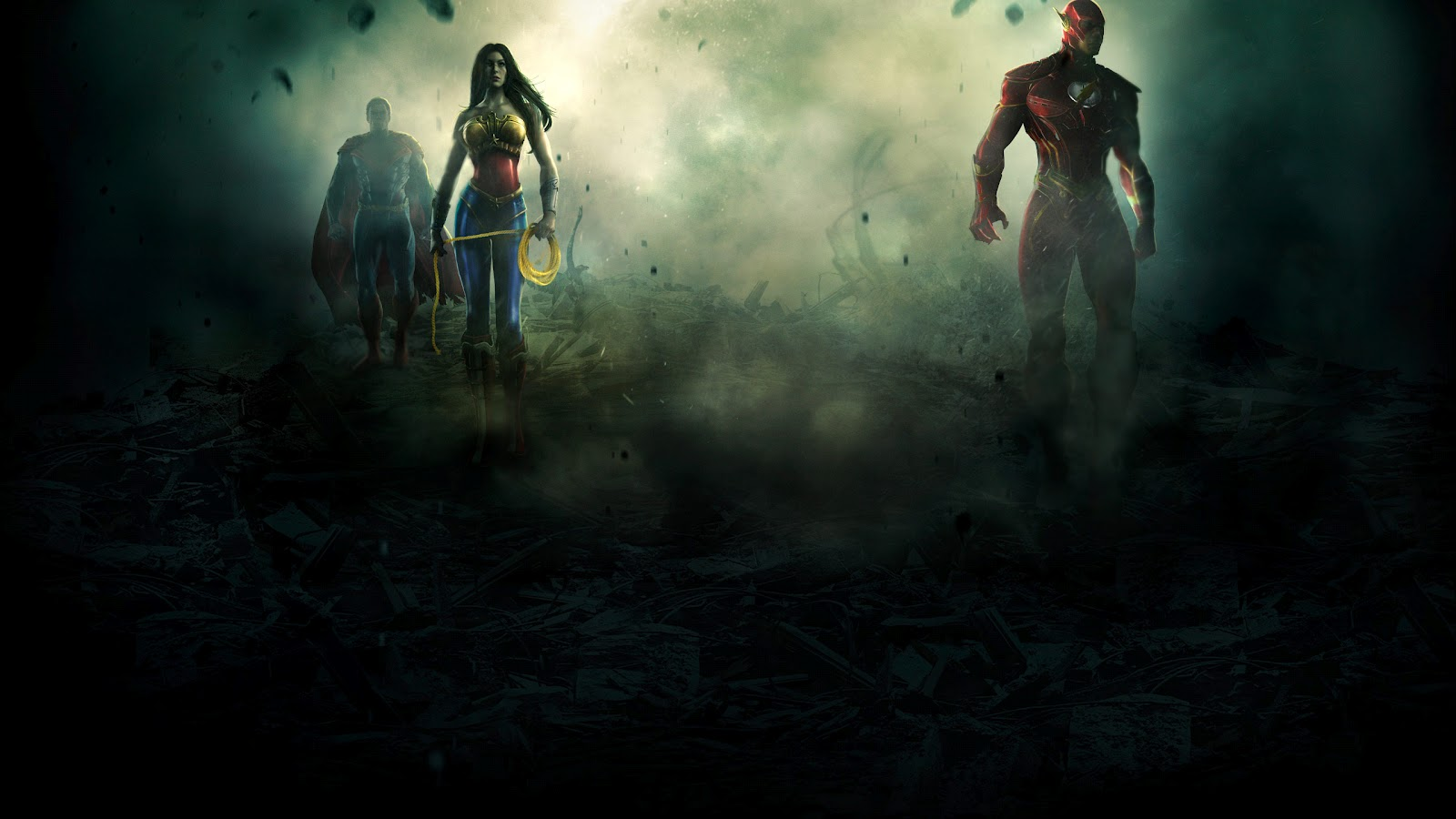 Hd wallpaper justice league - Injustice Gods Among Us Superman Hd Wallpaper Background 2560x1440px