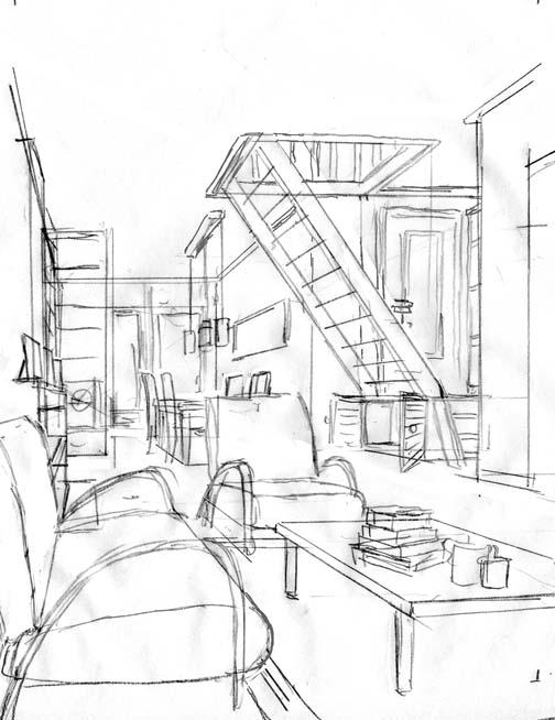 De bob evers strip het huis aan de noorderdwarsstraat for Interieur tekenen