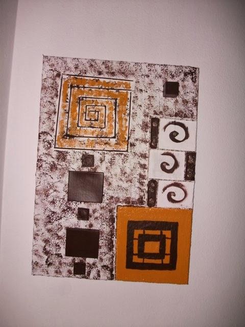 Manualidades modernas recicladas cuadros modernos reciclados - Manualidades cuadros modernos ...