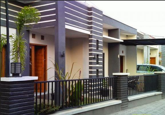 contoh rumah sederhana tapi cantik dan menarik desain
