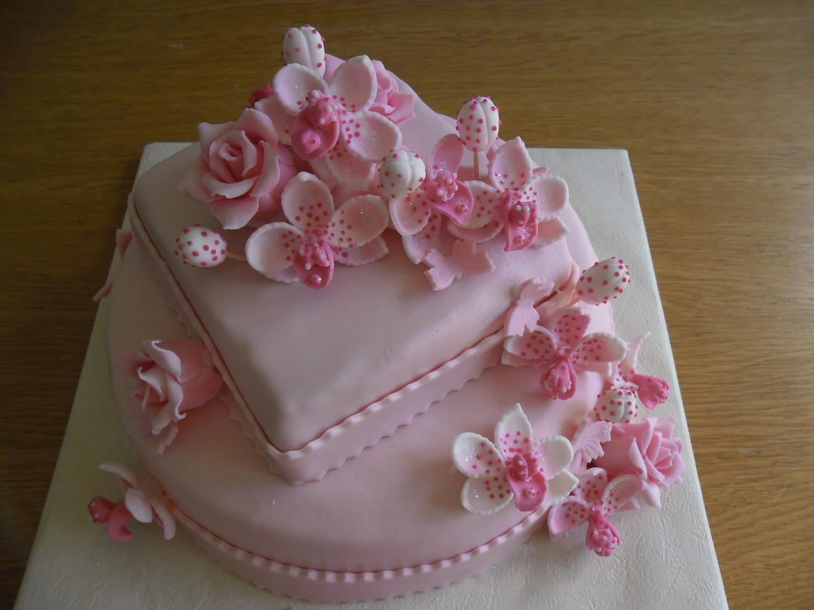 Bien-aimé gâteau orchidées | GATEAUX D'ALINE HZ31