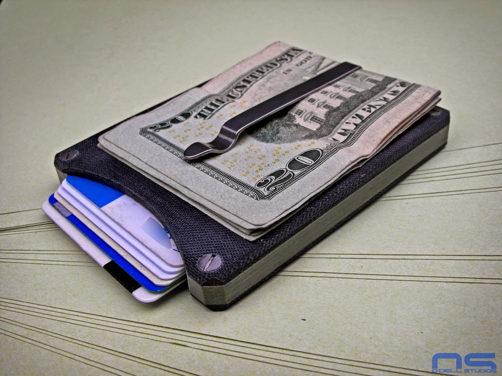 minimalist wallet everyday carry card holder front pocket wallet