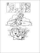 WINNIE THE POOH CON CESTITA DE SEMANA SANTA PARA COLOREAR Y PINTAR INFANTIL dibujos infantiles semana santa