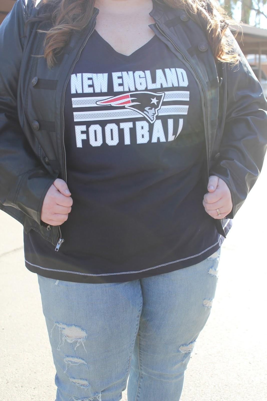 our mini family: plus size women's football fashion guide