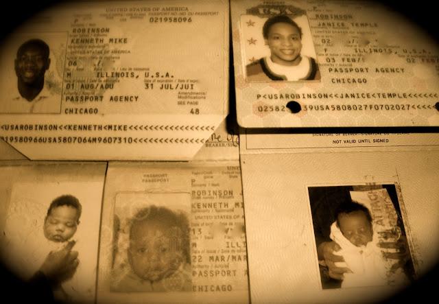 Robinson Family Passports