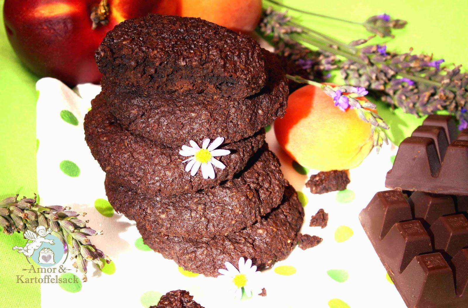 Schoko Espresso Cookies