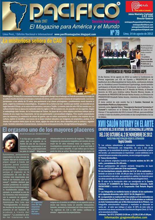 Revista Pacífico Nº 79 Arqueología