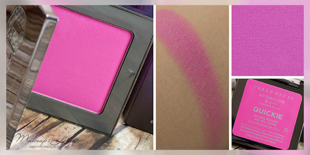 Urban Decay Summer Launches 2015 Afterglow Blushes Quickie Swatch