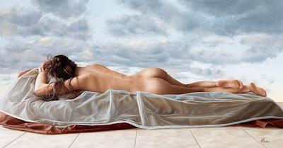 Cuadros De Mujeres Desnudas De Espalda