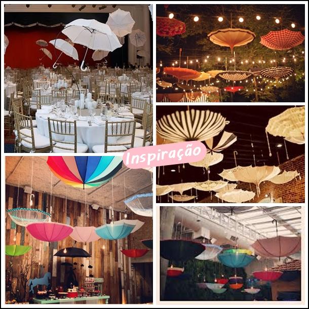 guarda chuva decoração festas