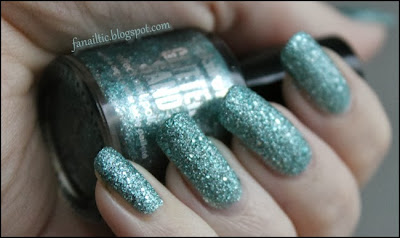 claire's glitter sand turquoise 52148