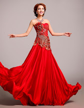 Chinese Red Wedding Dresses