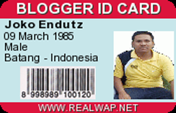 BLOGGER ID CARD