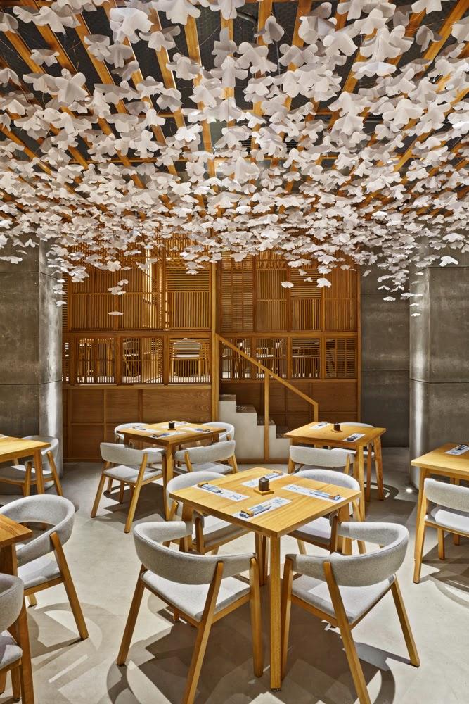 Ilia estudio interiorismo sushi bar nozomi dise o - Estudio interiorismo valencia ...