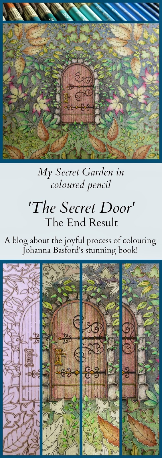 My Secret Garden Colouring Book Part 5