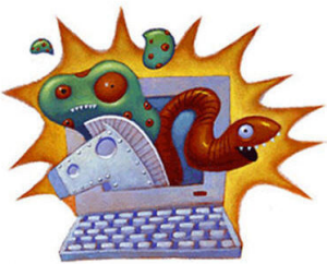 can viruses get out of a machine