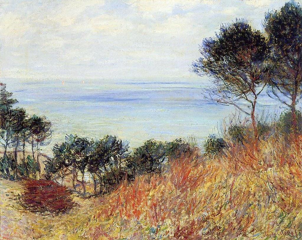 La côte de Varengeville (1882)