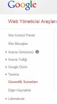 web site güvenliği