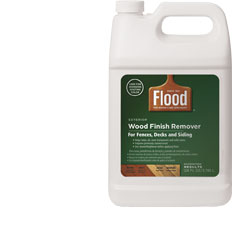 Flood staining made simple and sweepstakes better after for Wood floor wax remover