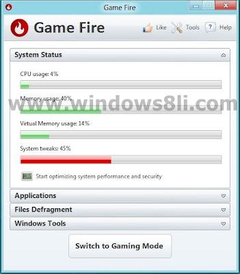 gamefire oyun optimizasyon