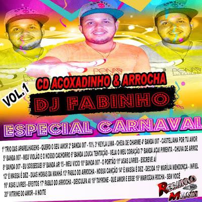 CD ACOXADINHO & ARROCHA VOL.01 LANÇAMENTO DJFABINHO 26/01/2016