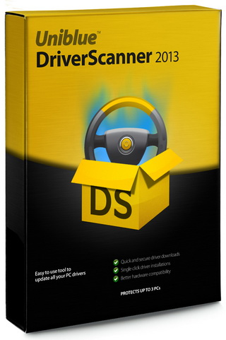 uniblue driver scanner 2010 serial key