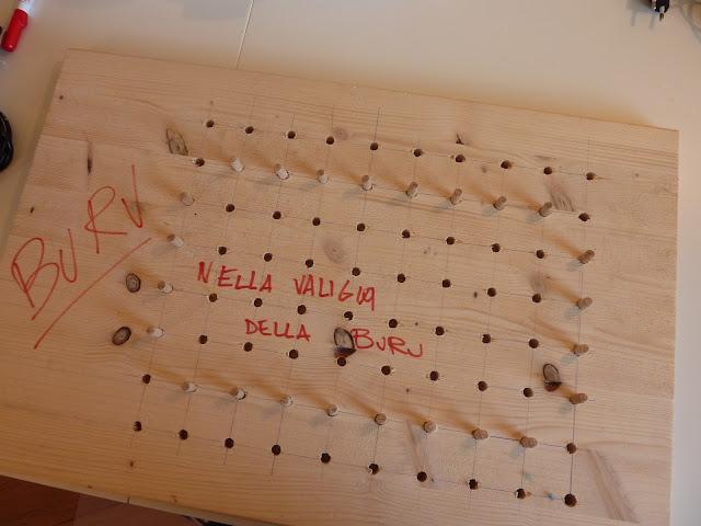 costruire un telaio