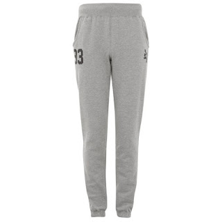 Zoo York Men's Huston Sweatpants Pantalón Chándal- Ath Grey
